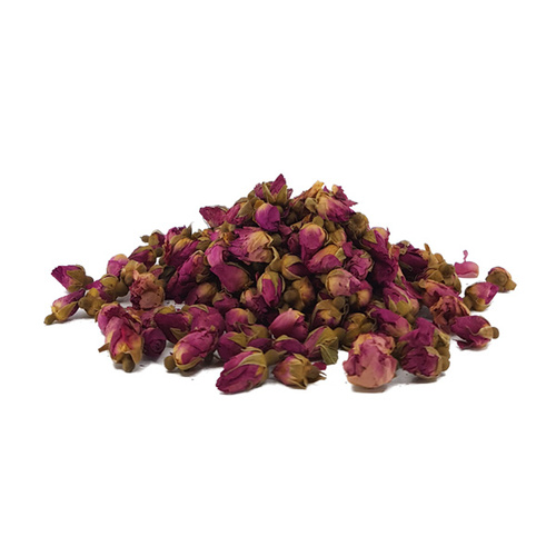 Certified Organic Dried Rose Buds