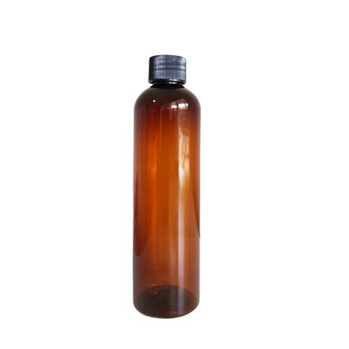 250ml Amber Bottle - Plastic