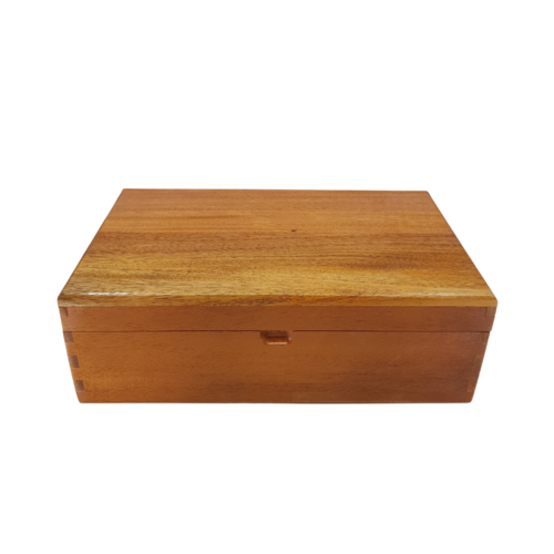 Essential Oil Box - 45 Bottles Mahogany