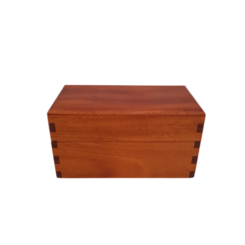 Essential Oil Box - 21 Roller Bottles Mahogany
