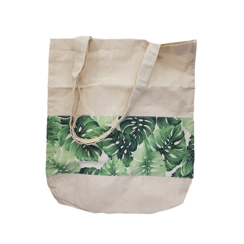 Kriayt Calico Bag - Monstera Natural
