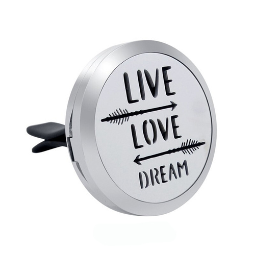 Stainless Steel Car Diffuser Clip - Live Love Dream