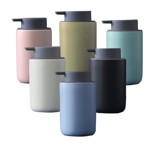 450ml Ceramic Liquid Soap Dispenser
